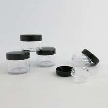 Free shipping -  5g high quality cream jar, cosmetic container, plastic bottle,sample jar
