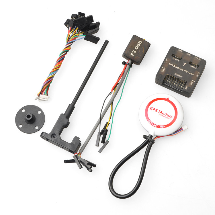 JMT Control Acro 6DOF with M8N-GPS M8N GPS OSD Combo Pro SP Racing F3 Flight Set for DIY Mini 250 280 210 RC Quadcopter FPV diy mini drone flight control kit sp racing f3 mini m8n gps cf osd holder for qav250 robocat270 nighthawk 250 quadcopter