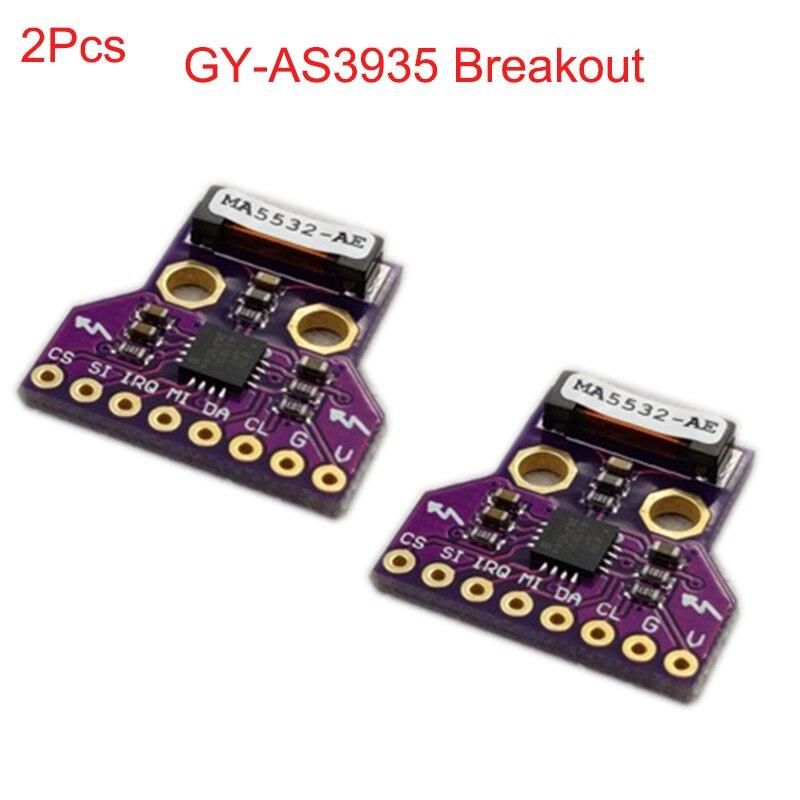 Board-Module Sensor Thunder GY-AS3935 Storm Distance-Detection-Fz3480 2pcs I2C Breakout