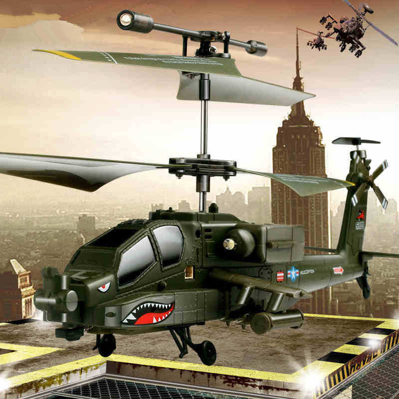 ФОТО Free Shipping S109G RC Helicopter with GYRO 2.4G 3CH Anti-Shock Colorful Flashing Light RC Toy Electronic Toys RC DRONE