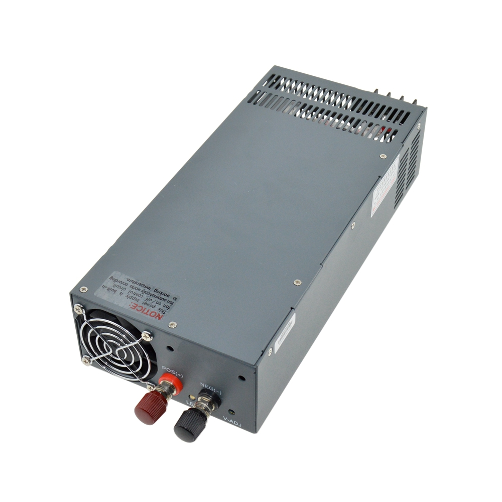Led driver CV Output 1200W 60V 20A input ac 110v/220v to DC 60v Constant Voltage Single Output Switching Power Supply