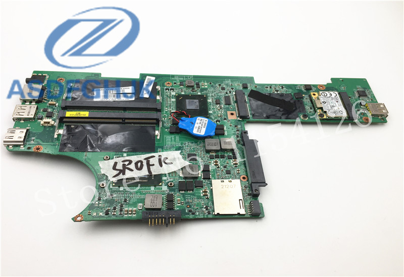 laptop motherboard 04W3372 DA0FL8MB8C0 REV: C for lenovo for thinkpad edge x120e motherboard DDR3 integrated 100% test ok