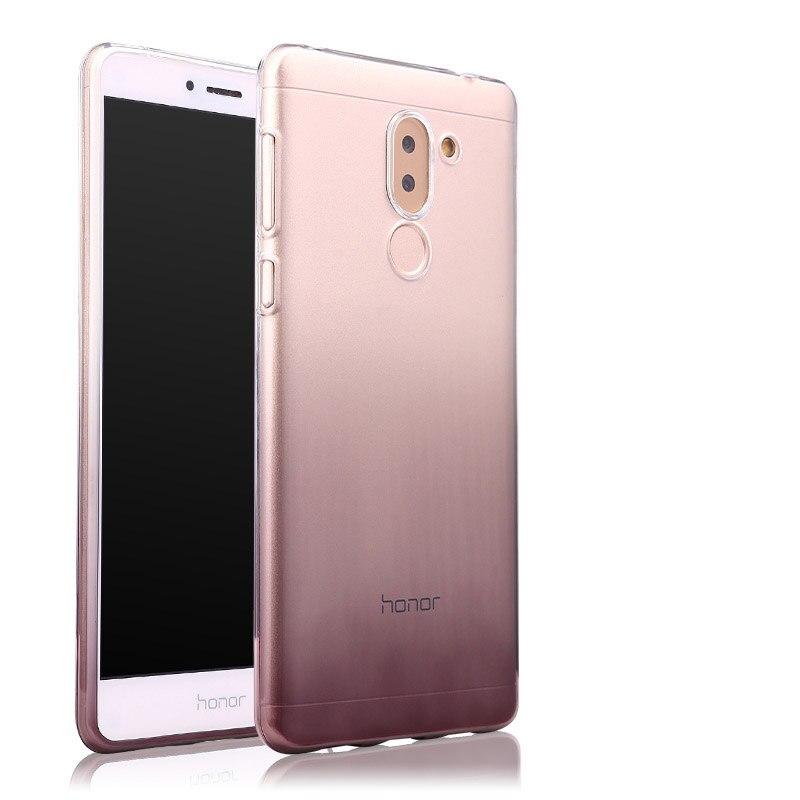 Huawei Honor 6x դեպքում թափանցիկ փափուկ - Բջջային հեռախոսի պարագաներ և պահեստամասեր - Լուսանկար 2