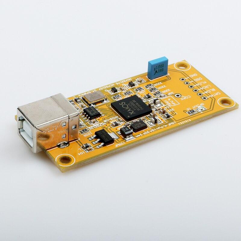 K GuSS XMOS U8 Digital audio USB Daughter Card Support 32BIT Free Shipping