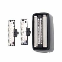 Barbeador de substituição para philips shaver qs6161/33/34 qs6141/33/41 faca malha acessórios