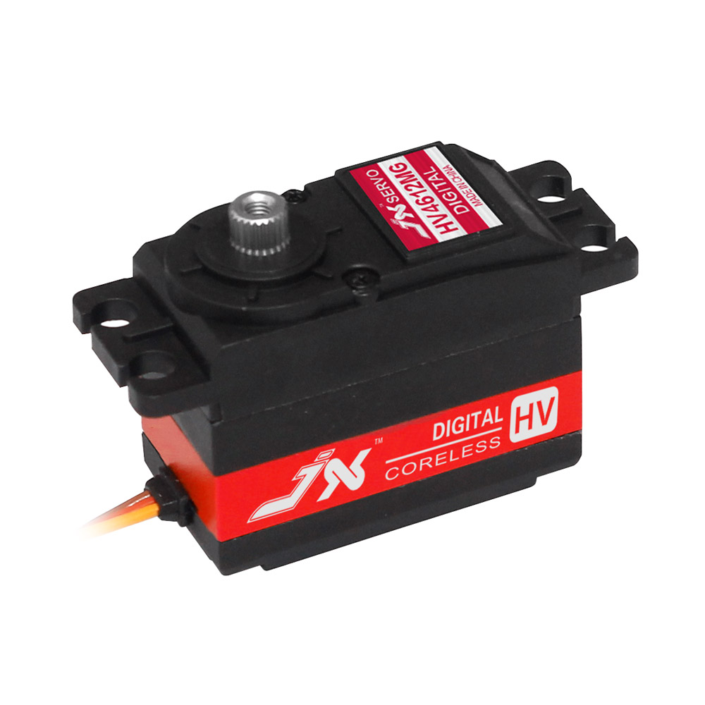 Superior Hobby JX PDI-HV4612MG 12KG High Precision Metal Gear CNC alum middle Shell High Voltage Digital Coreless Short Servo superior hobby jx pdi 6221mg 20kg high precision metal gear digital coreless standard servo for rc model plane car