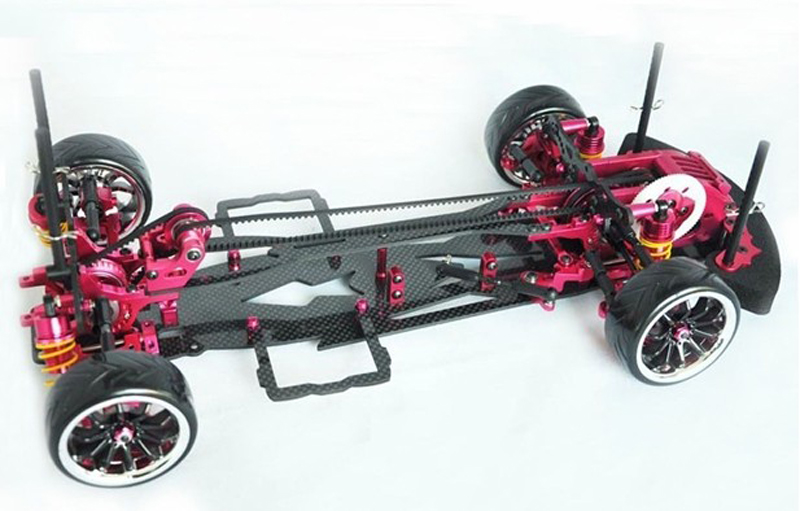 1PCS Carbon Fiber and Alloy Sakura D3 CS 3R OP RC 1/10 4WD Drift Racing Car Frame Kit 1:10 Model Cars 1 set d3 cs sport aluminum steering system for 3racing sakura d3 1 10 rc car top quality