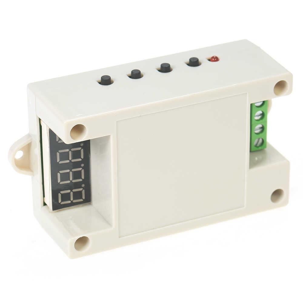220V 5A LED Vertraging Relais Module Motor Driver Controller met Case voor Arduino Raspberry Pi
