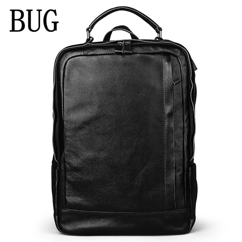 Padieoe 2017 Genuine Leather New Fashion Men Luxury Male Bag High Quality Waterproof Laptop Messenger Travel Backpack School Bag padieoe 2017 genuine leather new fashion men luxury male bag high quality waterproof laptop messenger travel backpack school bag