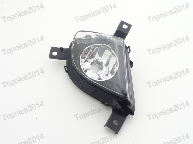 1Pcs Clear Driving Fog Light Fog lamp Right Side For BMW 3-Series E90 2008-2011 runmade for vw 2010 2011 2012 tiguan clear lens bumper fog driving light fog lamp right side 5nd 941 700