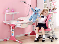 Children Learning Desk And Chair Which Can Lift