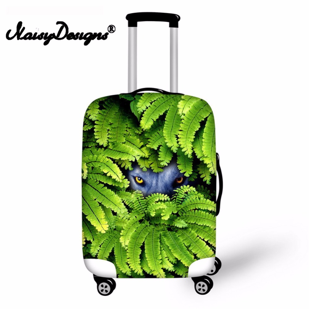 Noisydesigns Beasts Picture Luggage Suitcase Elastic Fashion  Protective Cover Dust-proof  Trunk Suitcase Case Cover   For S/M/L