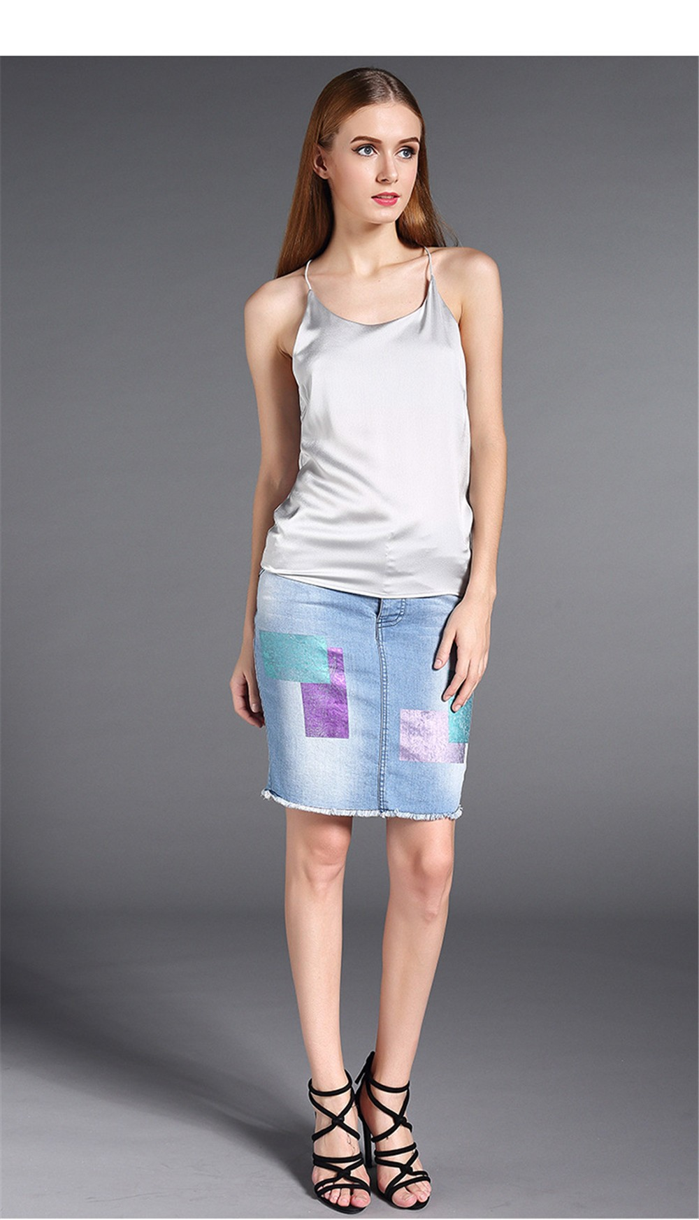 Plus Size S-4XL Multiple Women Tank Tops Brand Silk Blending Sleeveless Tshirt Women Female Shirt Smooth Blouse Blusas Femininas (16)