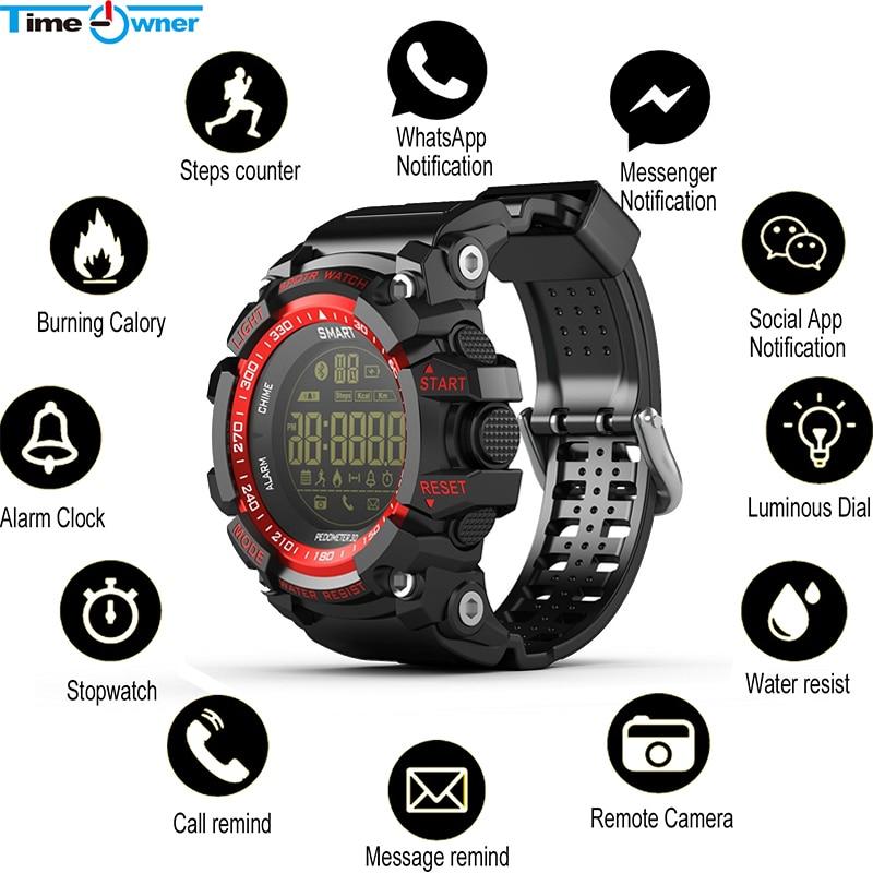 Умные часы с Bluetooth, водонепроницаемые, 5 ATM, шагомер, звонки/SMS, напоминание, соцприложение