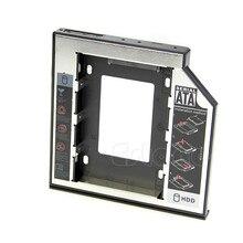 Алюминий + пластик Универсальный 2nd HDD Caddy 9.5mm SATA 3.0 SSD жесткий диск Корпус ODD оптических bay