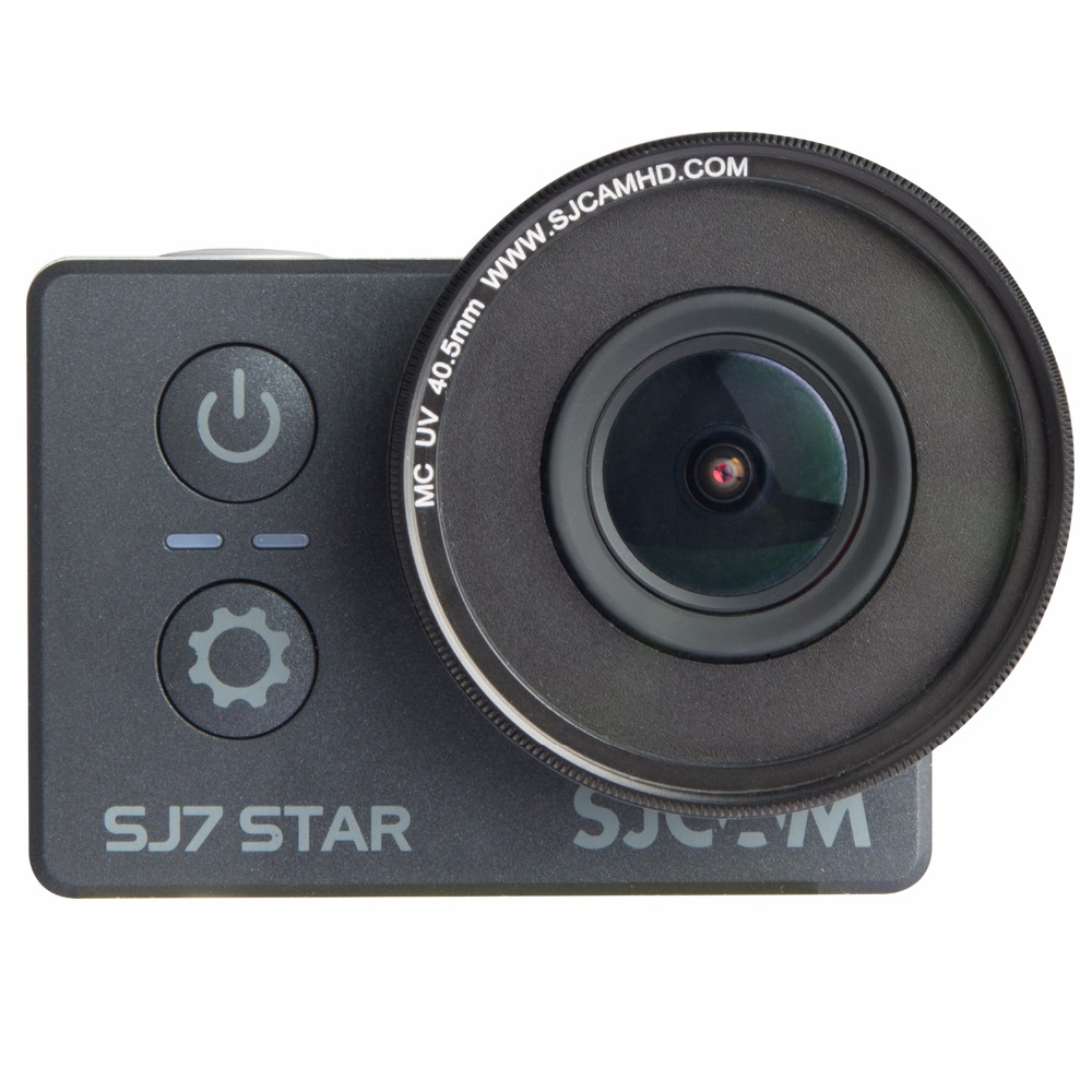 Original SJCAM SJ7 Star SJ6 Legend MC UV Lens 40.5mmProtection Cap-Anti Scratch Lens UV Filter Lens+Cap For SJ6 Legend SJ7 Cam
