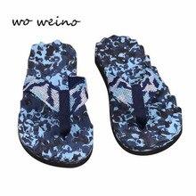 High Quality 2017 Summer Fashion Men Flip Flops Shoes Casual Slippers Plus Size 40-45cm Flat Sandals Men's Beach Shoes