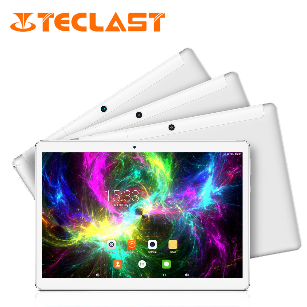Teclast 98 4G Phone Call Tablet PC 10.1'' IPS 1920*1200 MTK6753 Octa Core phablet Android 6.0 Dual SIM Card GPS FDD-LTE WCDMA