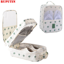 RUPUTIN New Portable Travel Shoes Organizer Bag Waterproof Shoe Cover Dustproof Shoe Bag For Women And Men Shoes Storage Package african lady aso ebi shoes and bag set new italian shoes and clutches bag black elegant stones shoes and bag matching sb8173 4