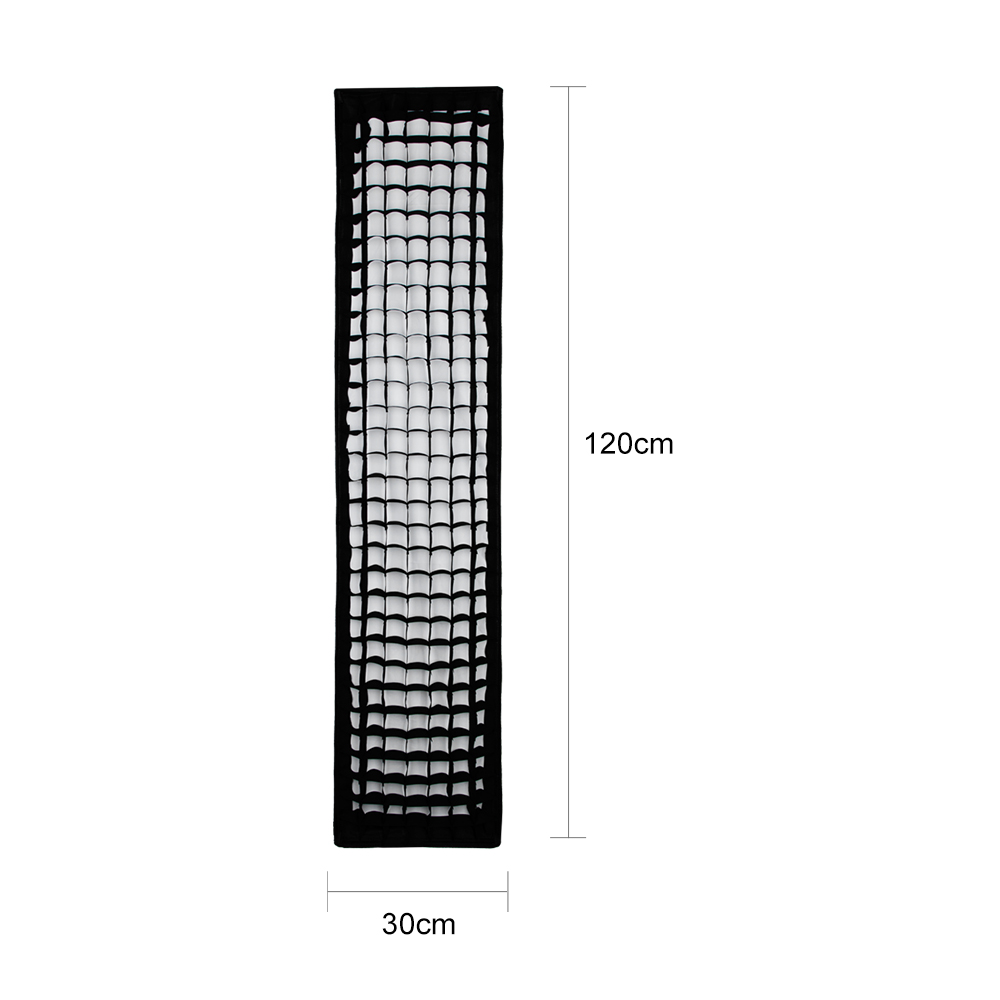 Godox-Softbox-30-x-120cm-12-x-47-Honeycomb-Grid-Strip-Bowens-Mount-Softbox-for-Studio