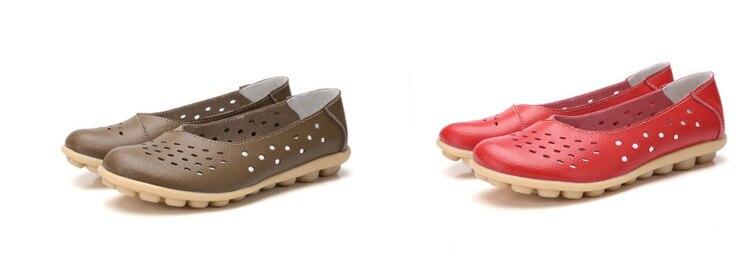 AH 5929-1-2019 Summer Woman Flats Cut-Outs Women Loafers-5
