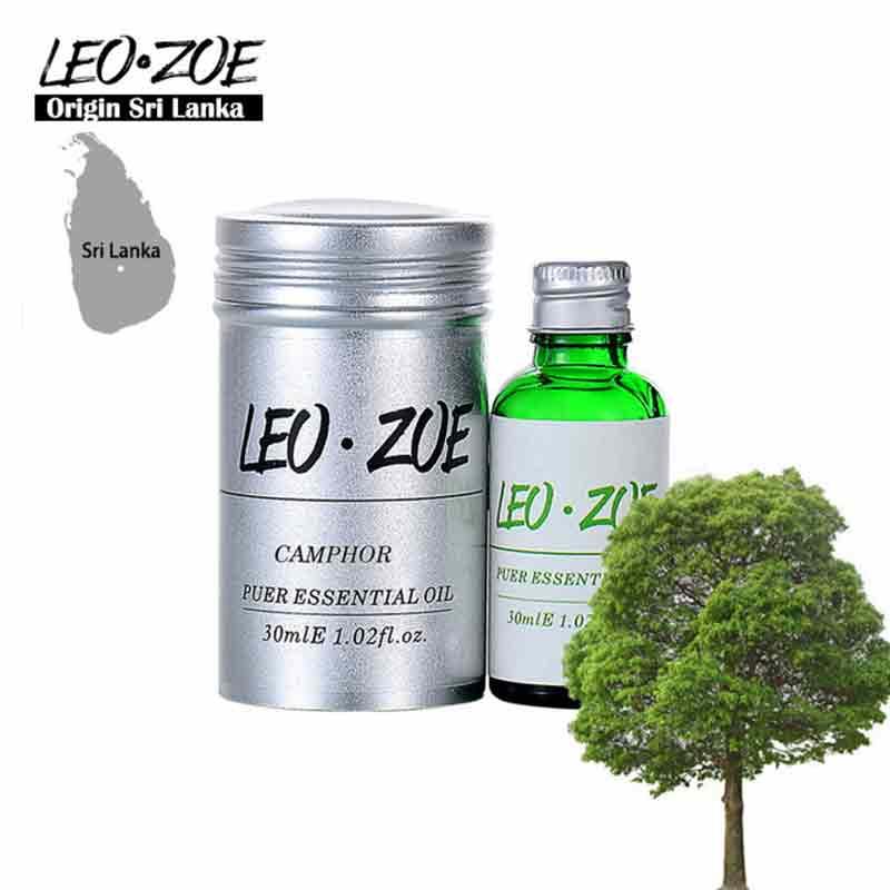 Marque bien connue LEOZOE camphre huile essentielle certificat dorigine Sri Lanka haute qualité aromathérapie camphre huile 30ML