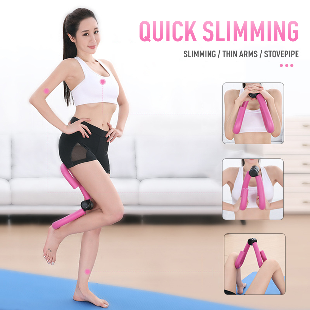 Leg Muscle Thin Stovepipe Clip Slim Leg Fitness Gym Thigh Master Arm Chest Waist