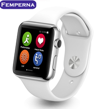 100 unids Venta! iwo 1:1 bluetooth smart watch para apple iphone 5 5s 6 plus samsung huawei htc android reloj teléfono inteligente