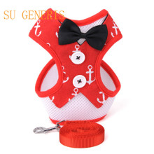 Dog leash chest straps Teddy bear than vest type evening dress bow tie pet chest clothes