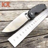 LDT RAT Model 1 Folding Blade Knives Carbon Fiber Handle AUS 8 Blade Tactical Knife Camping