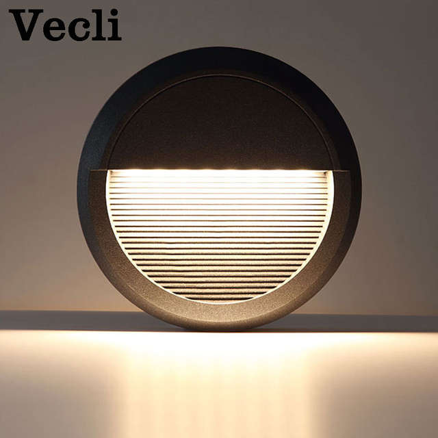 Us 49 97 40 Off Outdoor Waterproof Led Foot Light Step Lighting Fixtures Garden Landscape Wall Lamp Staircase Modern Aisle Corner Sconce In