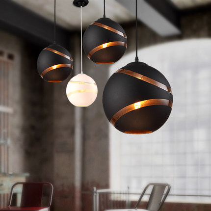 IWHD Glass Ball Modern LED Pendant Light Hot Creative Stripe Hanging lamp Fixtures For Home Lighting Bar Cafe Lamparas Colgantes modern round glass ball led pendant light restaurant cafe hanging lamp lamparas suspension luminaire home lighting fixtures