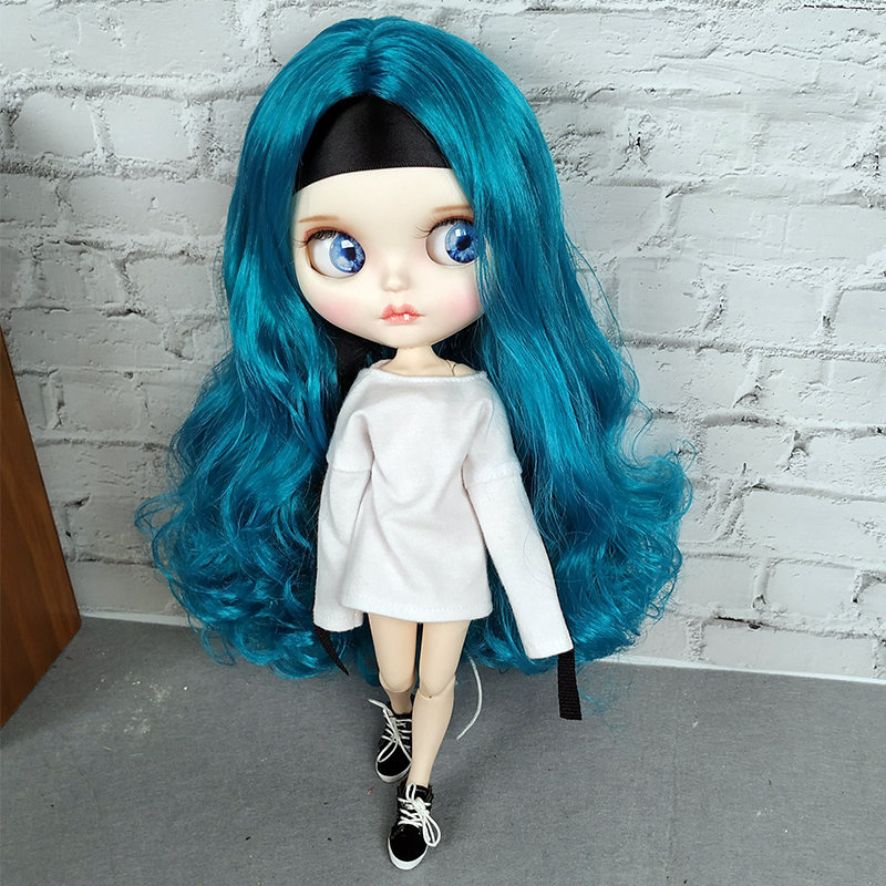 Customization 1/6 Blyth Doll With Clothes Hot Style Movable Joint Body Doll Fashion High Quality Girls Classic Toys Best GiftCustomization 1/6 Blyth Doll With Clothes Hot Style Movable Joint Body Doll Fashion High Quality Girls Classic Toys Best Gift