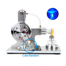 Hot Air Stirling Engine Model Electricity Generator Motor Model Educational Toy Science Experiment Kit Set For Children все цены