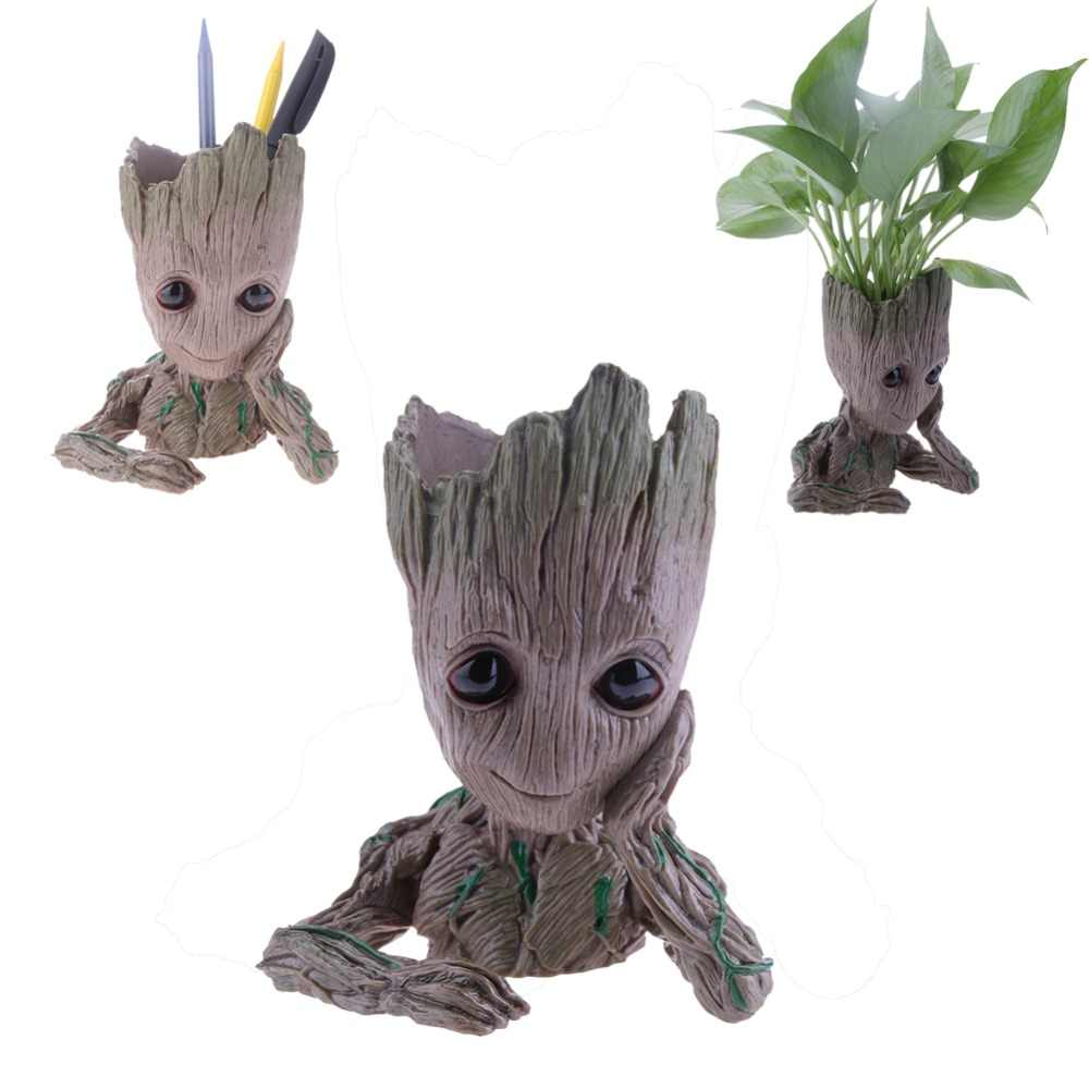 Sensorlamp Action Detail Feedback Questions About Baby Groot Flowerpot Flower Pot