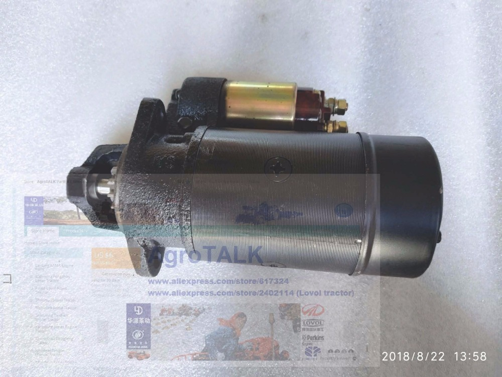 The starter motor 12V 0.8KW, suitable for engine like Changchai R190AM, etc,, part number: QD1109The starter motor 12V 0.8KW, suitable for engine like Changchai R190AM, etc,, part number: QD1109