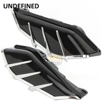 Motorcycle Air Deflector Trim Mid Frame Heat Shield Cover For Harley Touring Street Glide Road King Tri 2009 2016 UNDEFINED