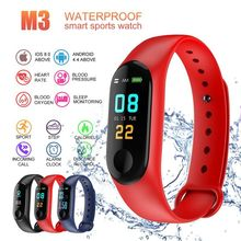 Outdoor fitness equipment Blood Pressure M3 Fitness Tracker Watch IP67 Swimming Waterproof GPS Tracker Heart Rate Monitor Smart