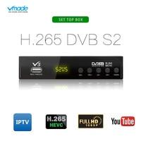 DVB S2 V5 Satellite Receiver Digital TV Box Tuner SUPPORT HD H.265 AC3 DVB S2 Receptor Wifi CS Cline Biss Vu Youtube USB Capture