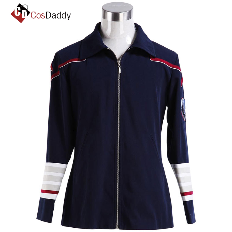 Enterprise Admiral Navy Blue Cosplay Costume ST CosDaddy