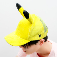2017 hot elf ears adorable cartoon mouse yellow pickup system peaked cap