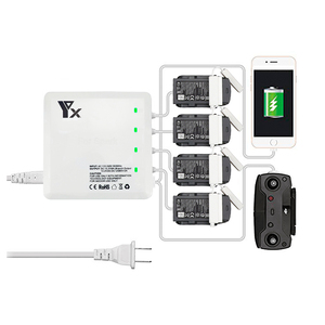 Image 1 - 6 IN 1 Smart Charger for DJI Spark Flight Battery Charging Hub Fast Smart Battery Charge Remote Controller Spare Parts