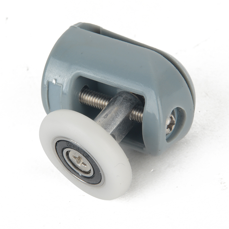 Single Shower Door Top/Bottom Roller Pulleys 25mm Shower Runners Wheels Useful Bathroom Shower Room Door Hardware Accessories
