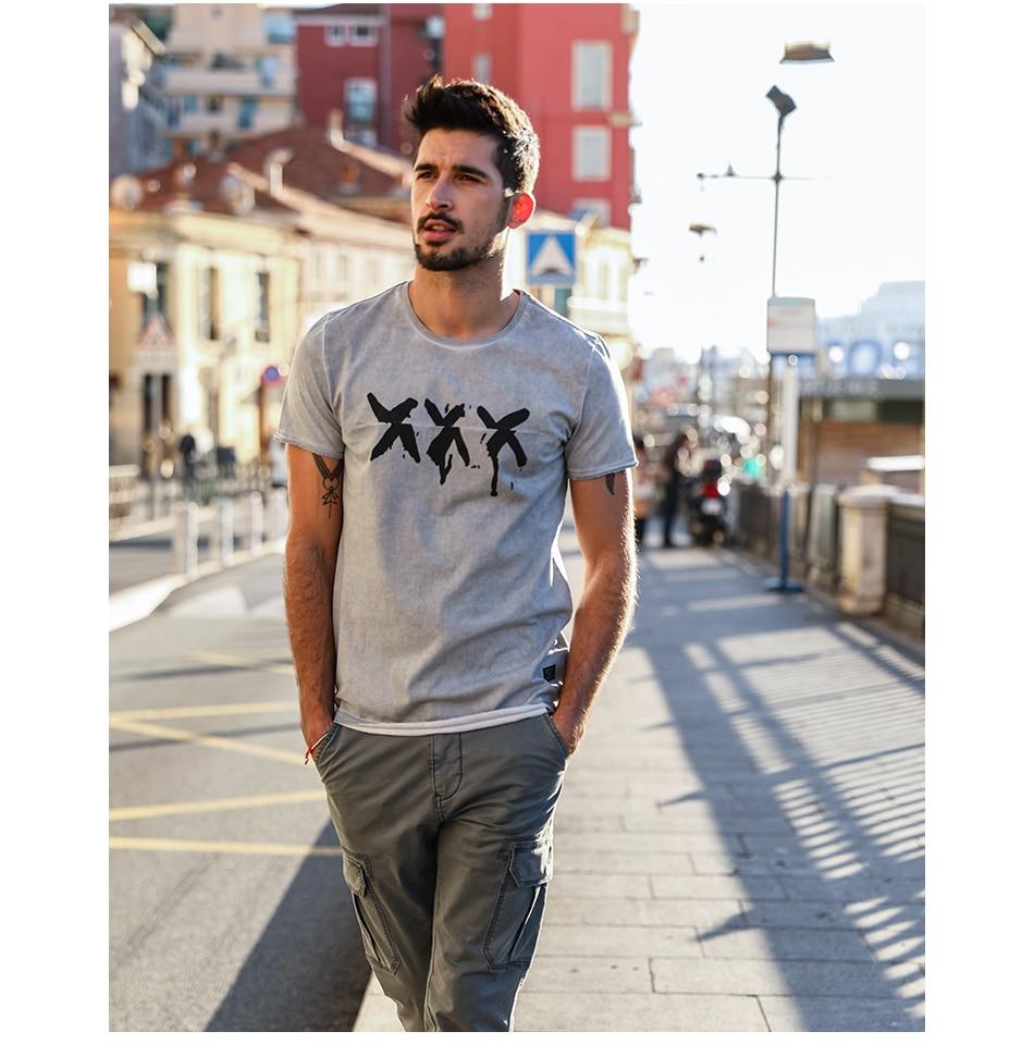 HTB1HyQbdZuYBuNkSmRyq6AA3pXad - SIMWOOD 2019 Summer Vintage T Shirt Men Slim Fit Fashion Short Sleeve Pattern Vintage Cotton Tops High Quality Tee 180142