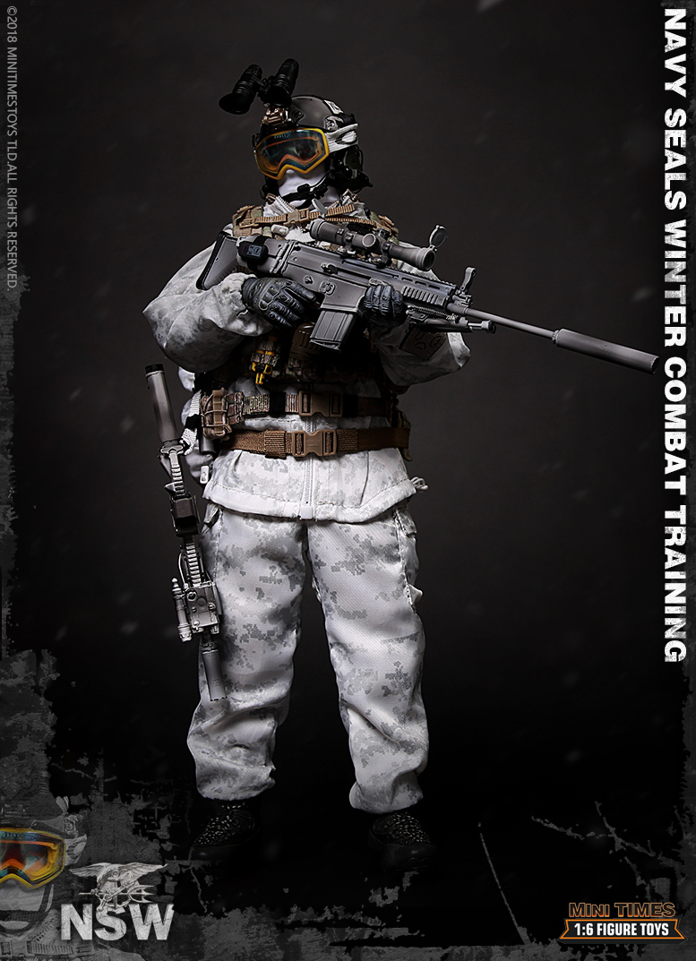 Easy/&Simple ES 26019C 1//6 Scale SMU T1 SEALs Solider Figure Model Toy
