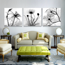 large home decoration paintings wall pictures for bedroom living room art cheap modern canvas oil painting flower (No Frames)