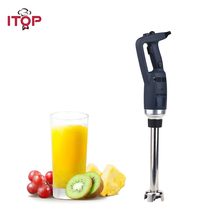 ITOP Commercial Juicer Blender Immersion Food Mixer 500W Professional Kitchen Appliance Adjustable Speed EU/US/UK Plug itop commercial professional juicer ice crusher blender multifunctional kitchen appliance food mixer