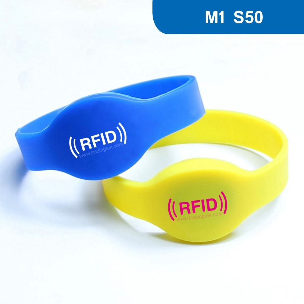 WB01 RFID Wristband for Access control, NFC Bracelet  RFID Smart tag ISO 14443A,13.56MHz 1KBYTE R/W with Original M1 S50 Chip wb01 hot sales silicone rfid wristband for access control nfc bracelet iso14443a 13 56mhz with m1 s50 chip free shipping