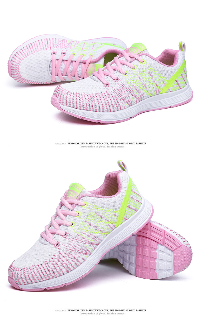 18 Women Breathable mesh Casual shoes Woman Flat platform shoes Air damping fashion zapatillas mujer casual tenis feminino 5
