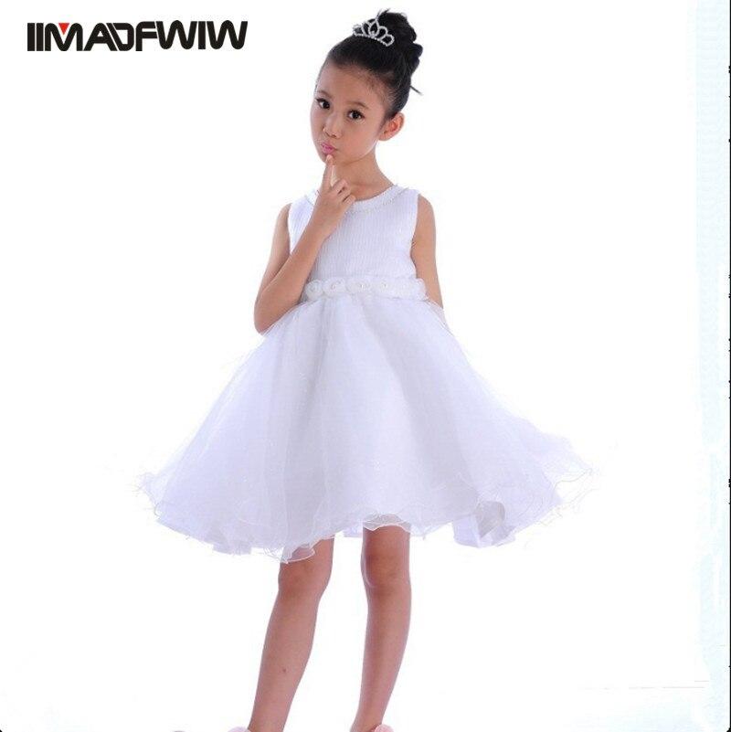 Witte jurk 140